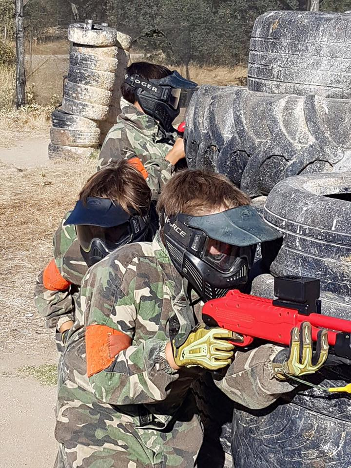 Paintball Madrid infantil