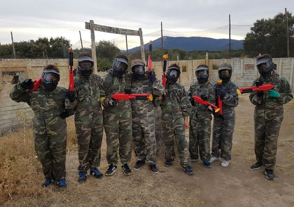 Paintball infantil para ni os en madrid ventajas para los for Megacampo paintball madrid oficinas madrid