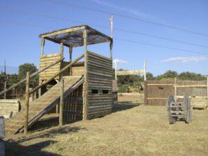 Megacampo escenario western 50