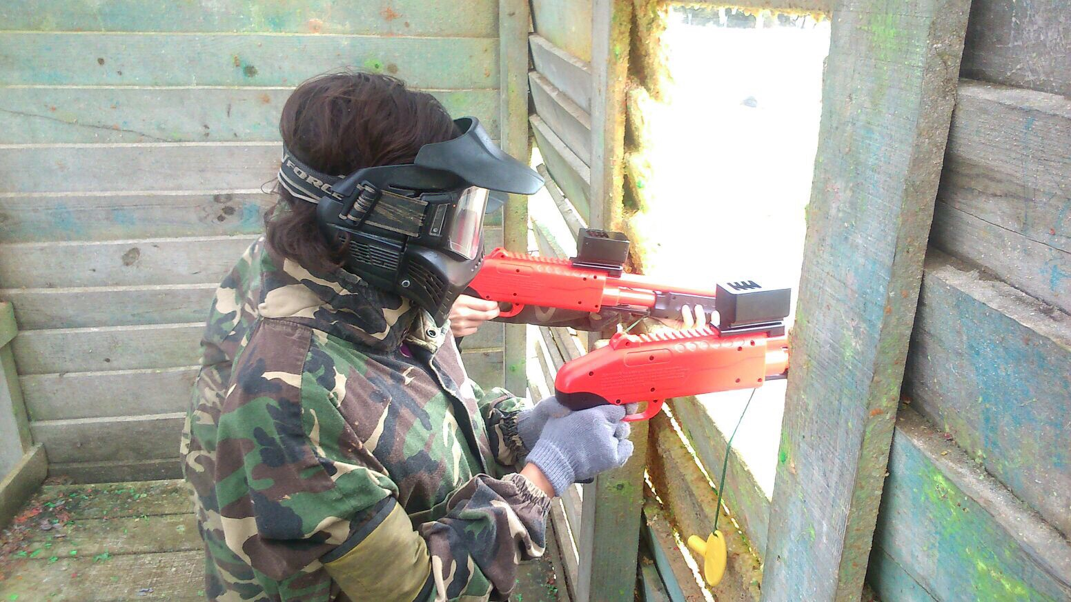 Paintball Madrid para niños
