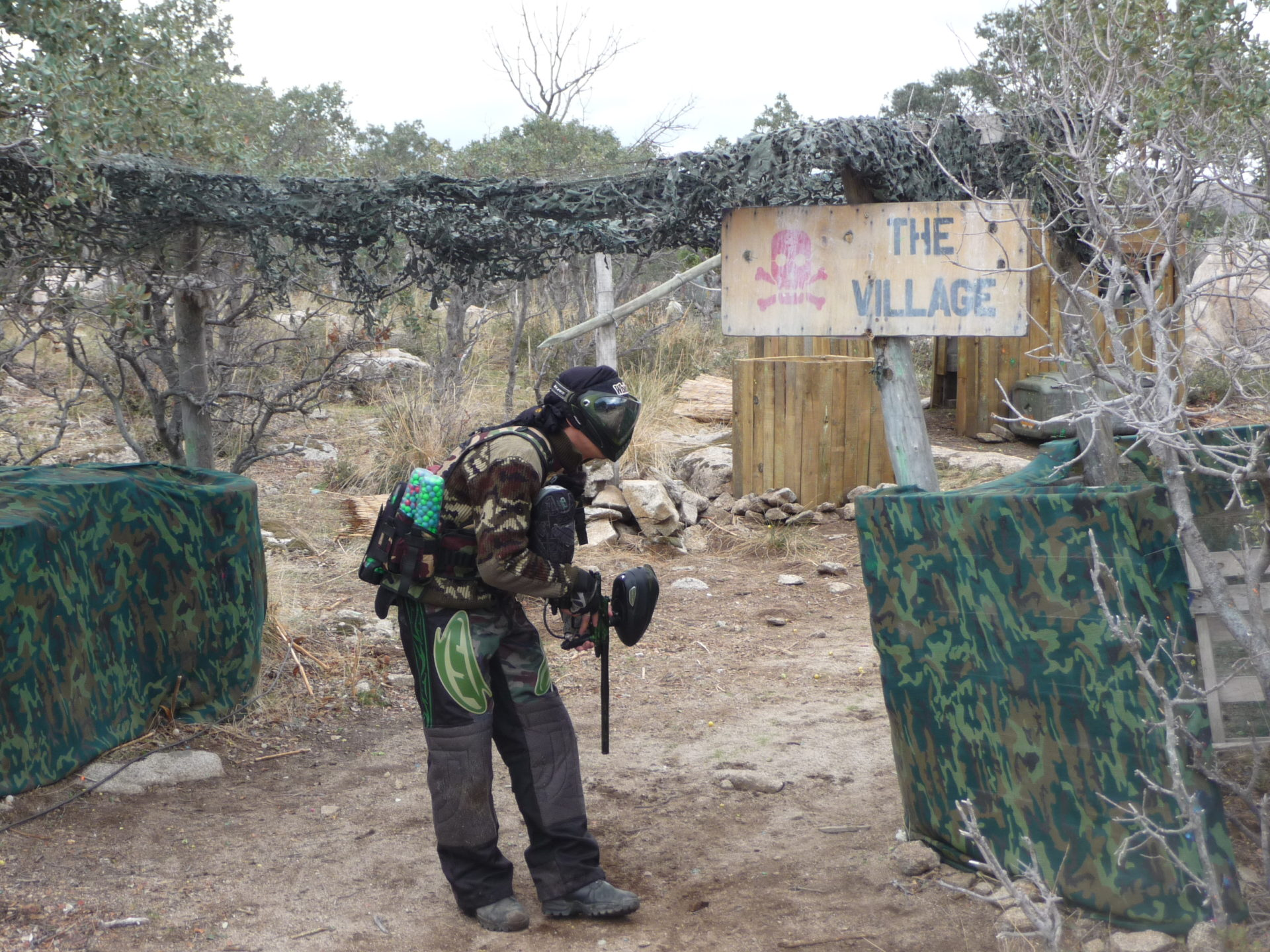 Campo de Paintball Madrid