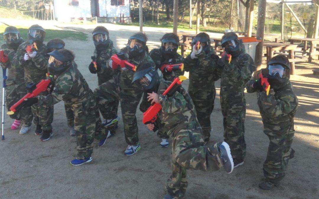 Paintball infantil Madrid: Desarrollo de capacidades estratégicas