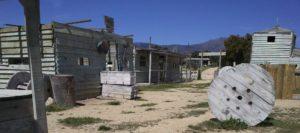 Megacampo escenario western de paintball en madrid