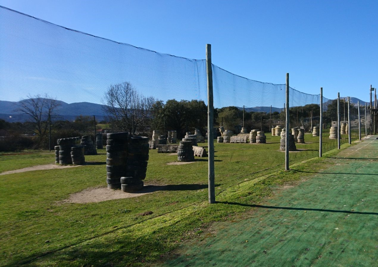 Campos de juego Paintball Madrid