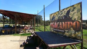 Area de recreo de Megacampo paintball madrid