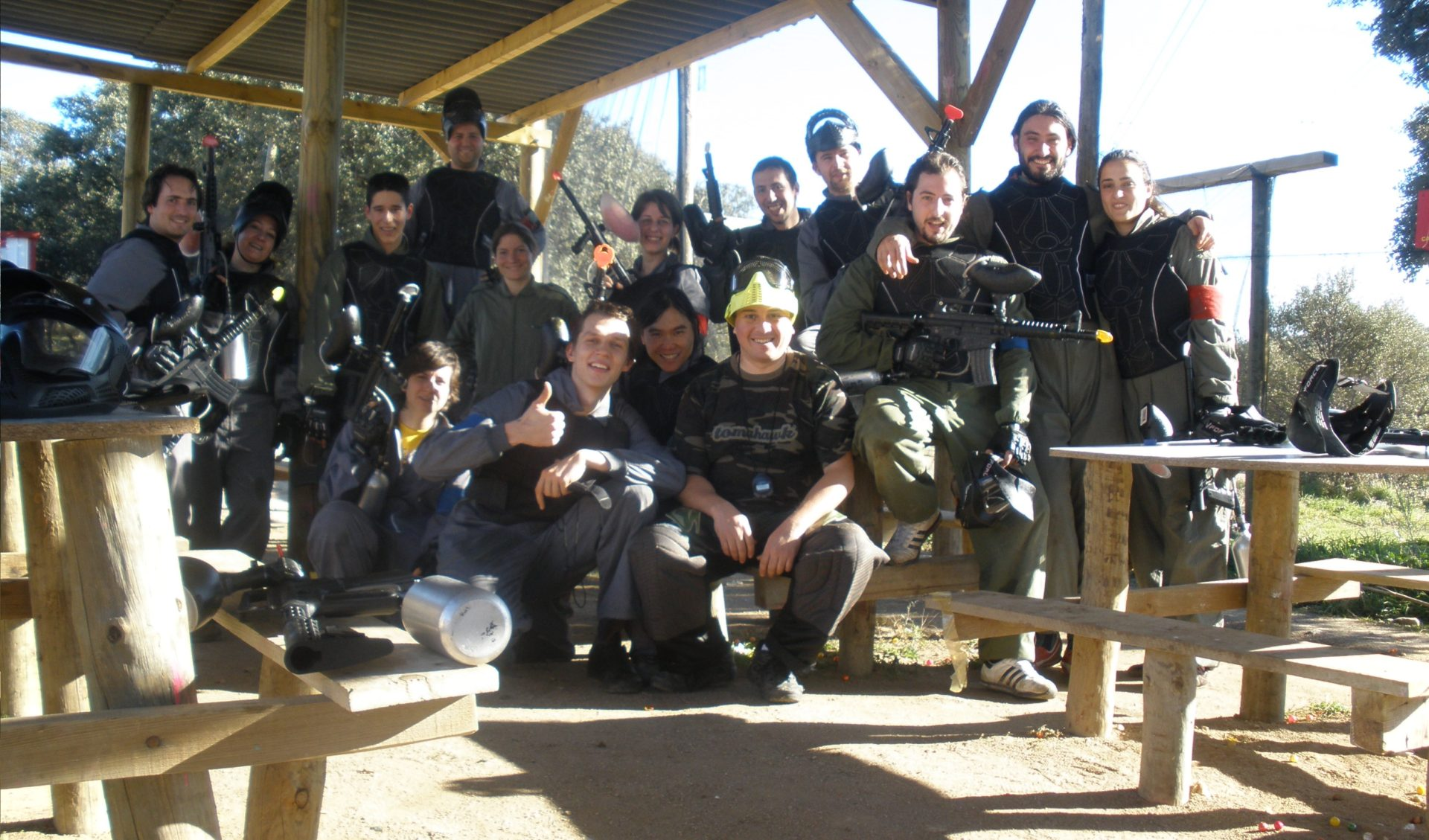 quedadas en grupo con tu campo de paintball madrid megacampo ForMegacampo Paintball Madrid Oficinas Madrid