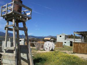 Campo western de painball madrid