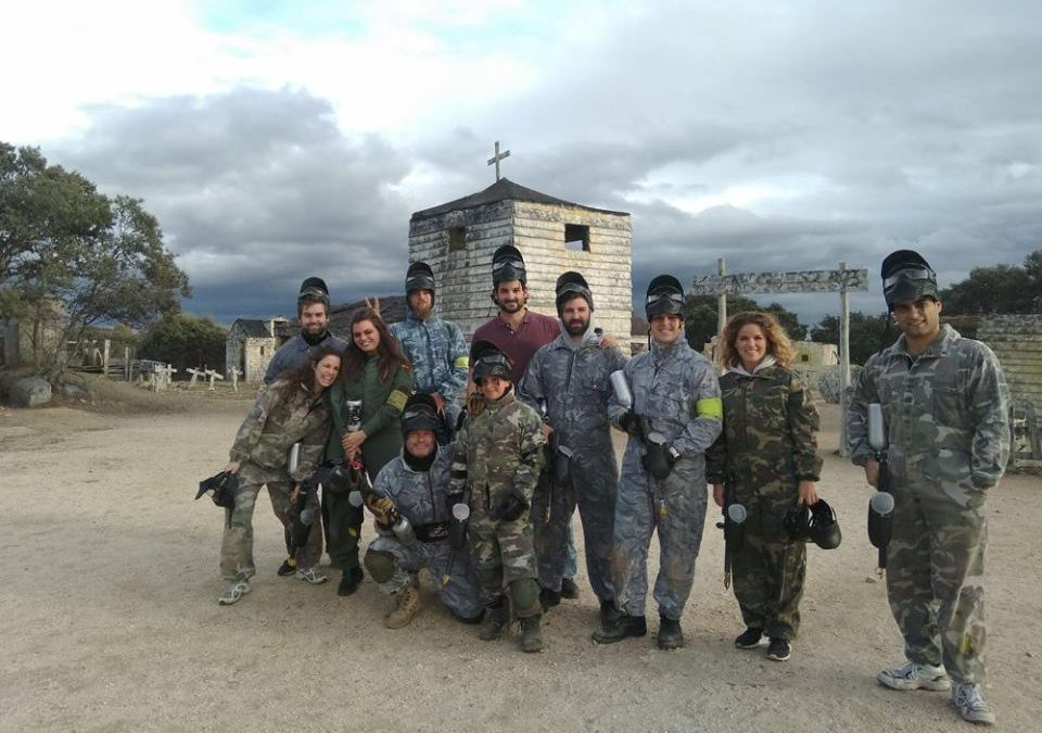 Paintball un deporte que no entiende de g nero for Megacampo paintball madrid oficinas madrid