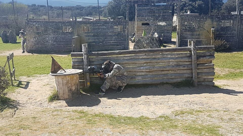 Paintball Madrid para empresas