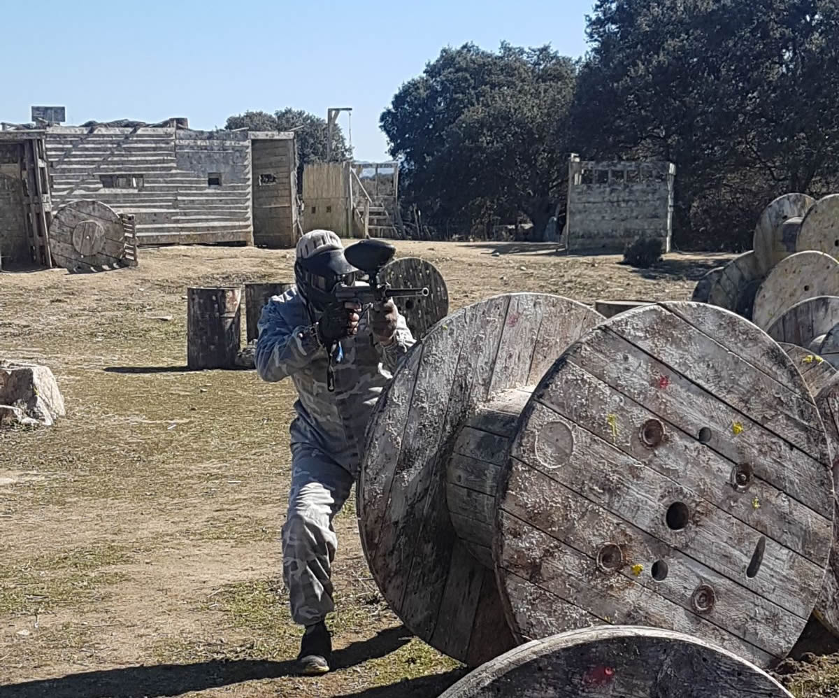 Paintball Madrid juego para empresas
